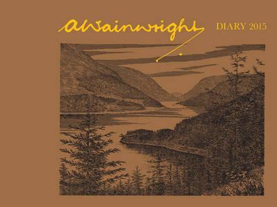 A. Wainwright Desk Diary 2015