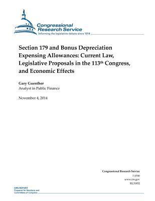 Section 179 and Bonus Depreciation Expensing Allowances