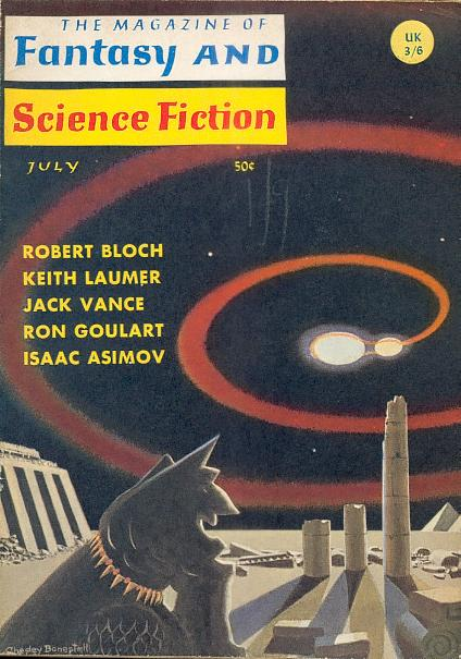 The Magazine of Fantasy and Science Fiction, July 1966