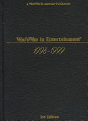 Who's Who in Entertainment, 1998-1999