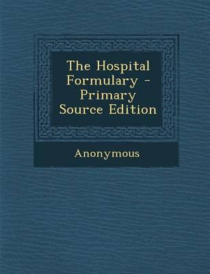 The Hospital Formulary