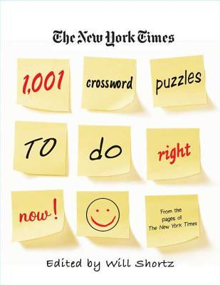 The New York Times 1,001 Crossword Puzzles to Do Right Now