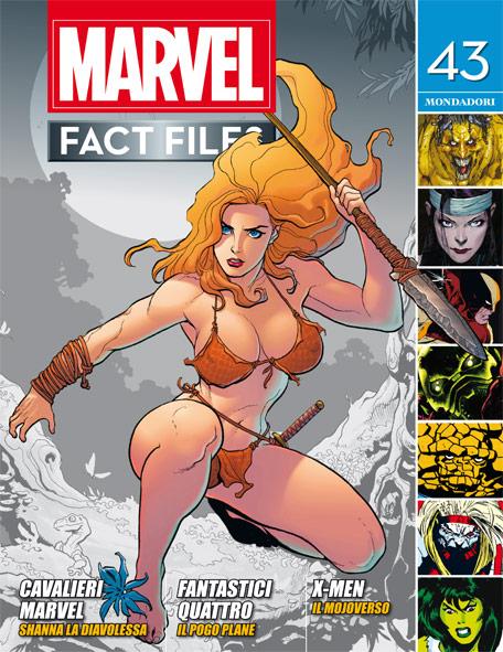 Marvel Fact Files n.23