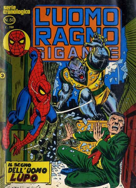 L'Uomo Ragno Gigante n. 50