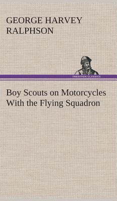 Boy Scouts on Motorcycles With the Flying Squadron