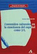 Contenidos culturales en la enseñanza del español como 2/L