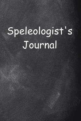Speleologist's Journal Chalkboard Design