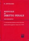 Manuale di diritto penale