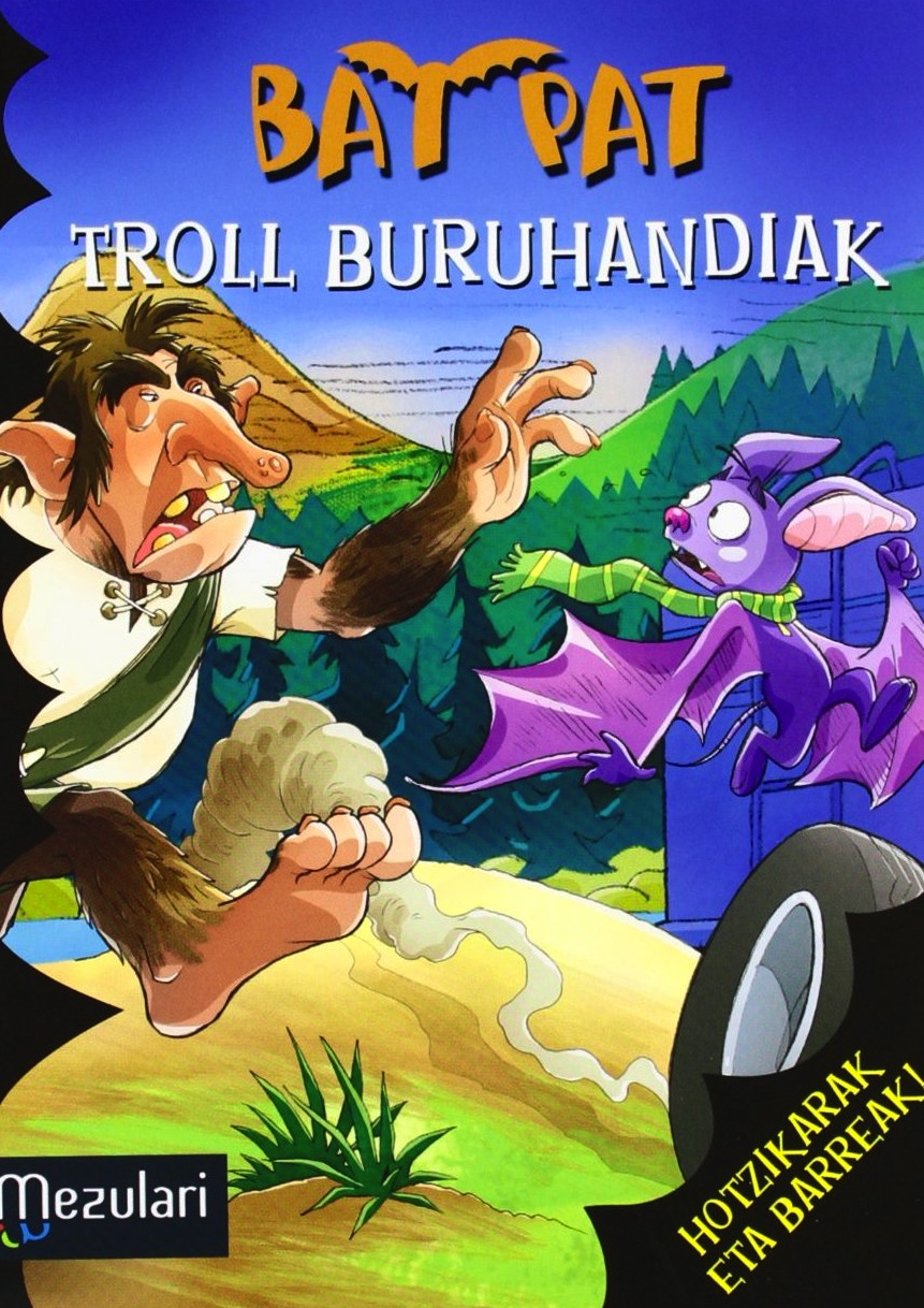 Troll buruhandiak