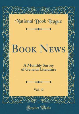 Book News, Vol. 12