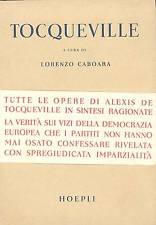 Democrazia e libertà nel pensiero di Alexis de Tocqueville