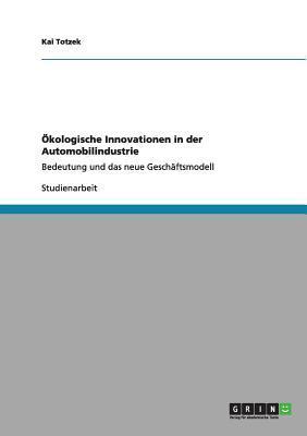 Ökologische Innovationen in der Automobilindustrie