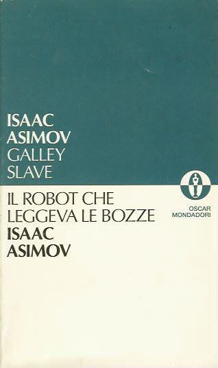Il robot che leggeva le bozze