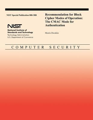 Recommendation for Block Cipher Modes of Operation