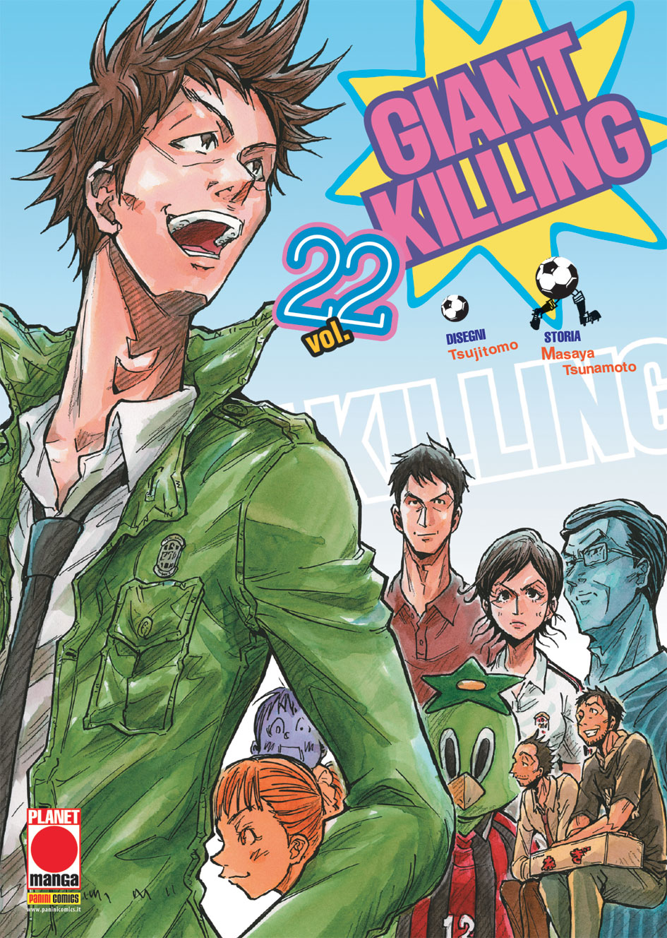 Giant Killing vol. 22