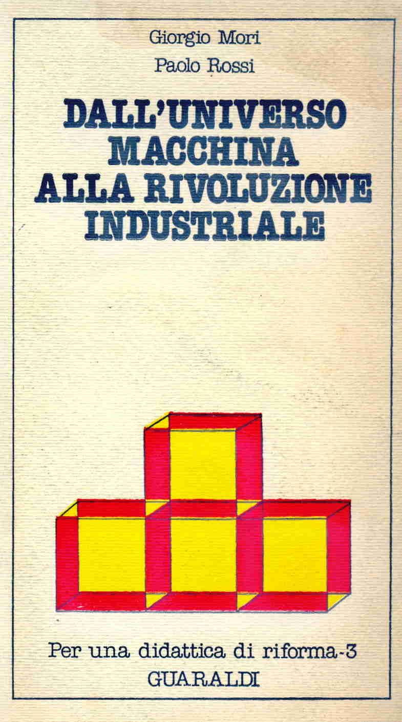 Dall'universo macchina alla rivoluzione industriale