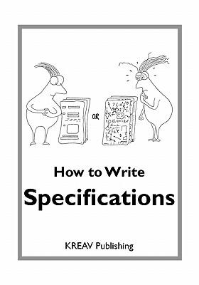 How To Write Specifications