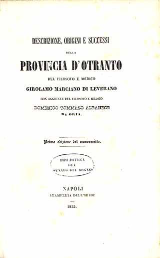 Descrizione, origini e successi della provincia d'Otranto