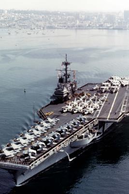USS Ranger (CV-61) U...
