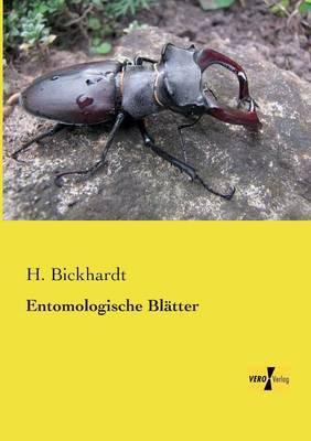 Entomologische Blaetter