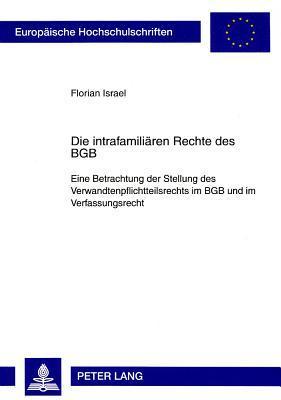 Die Intrafamiliaren Rechte Des Bgb