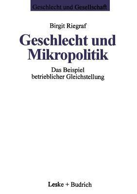 Geschlecht Und Mikropolitik