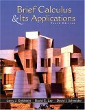 Brief Calculus and Its Applications, 10th Edition