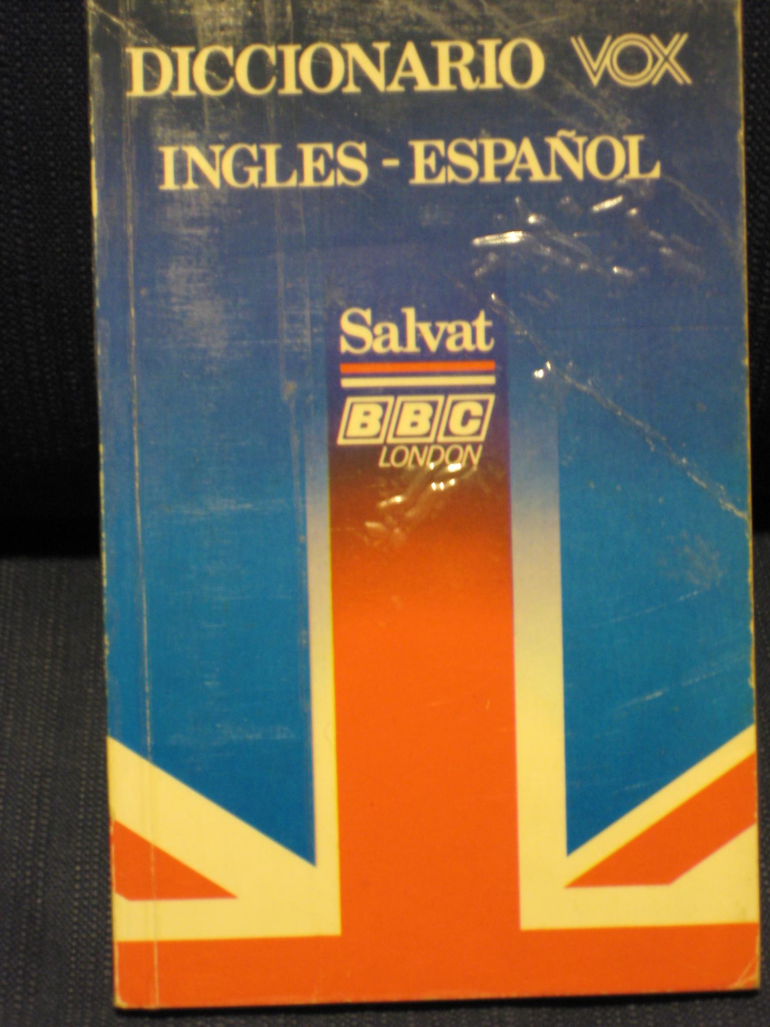 Diccionario VOX inglés-español