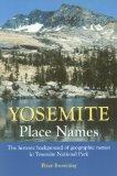 Yosemite place names