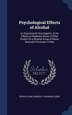 Psychological Effects of Alcohol