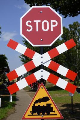 Stop! Railroad Crossing! Signs Journal