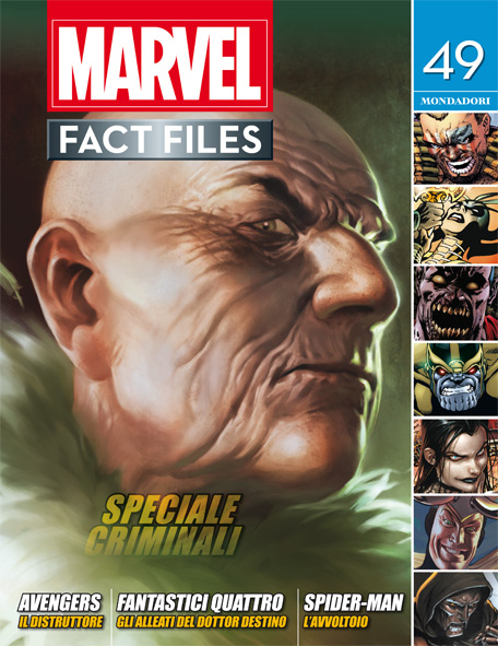 Marvel Fact Files n.26
