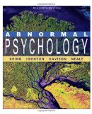 e-Study Guide for: Abnormal Psychology by Ann M. Kring, ISBN 9780470380086