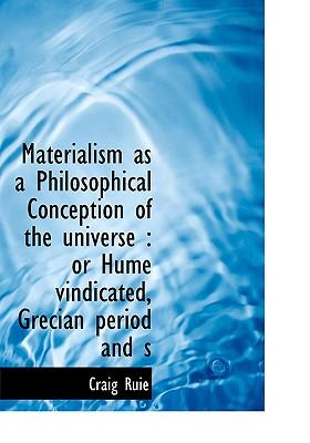Materialism as a Philosophical Conception of the Universe