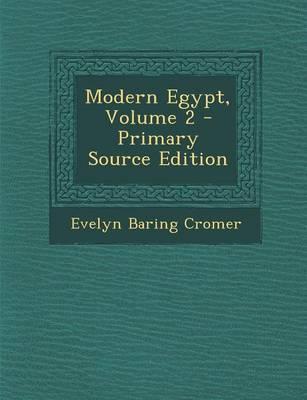 Modern Egypt, Volume...