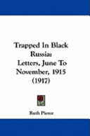 Trapped in Black Russi