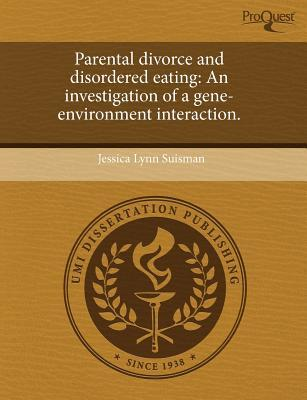 Parental Divorce and Disordered Eating