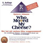 Who moved my cheese....