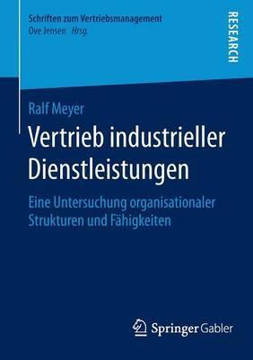 Vertrieb Industrieller Dienstleistungen