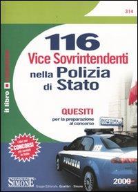Centosedici vice sovrintendenti nella polizia di Stato. Quesiti per la preparazione al concorso