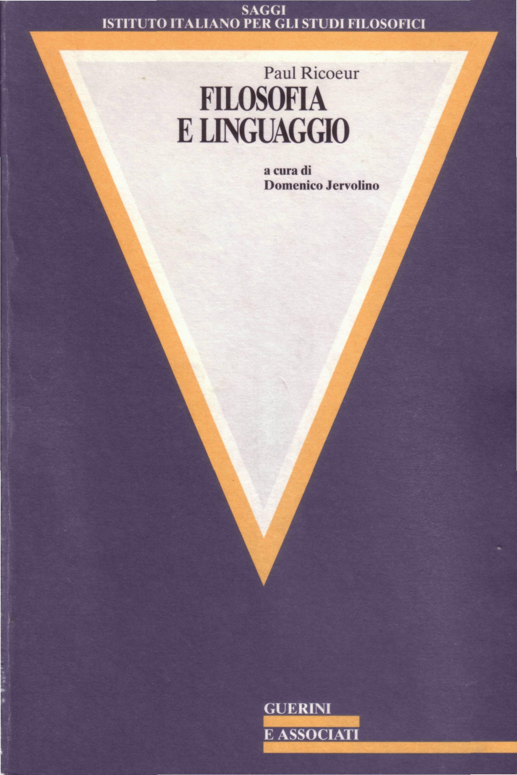 Filosofia e linguaggio