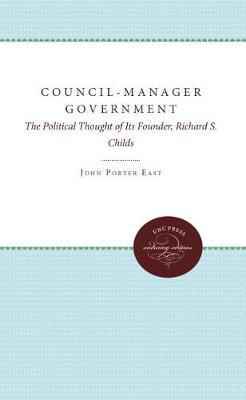Council-Manager Government