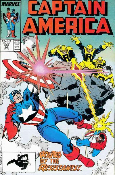 Captain America Vol.1 #343