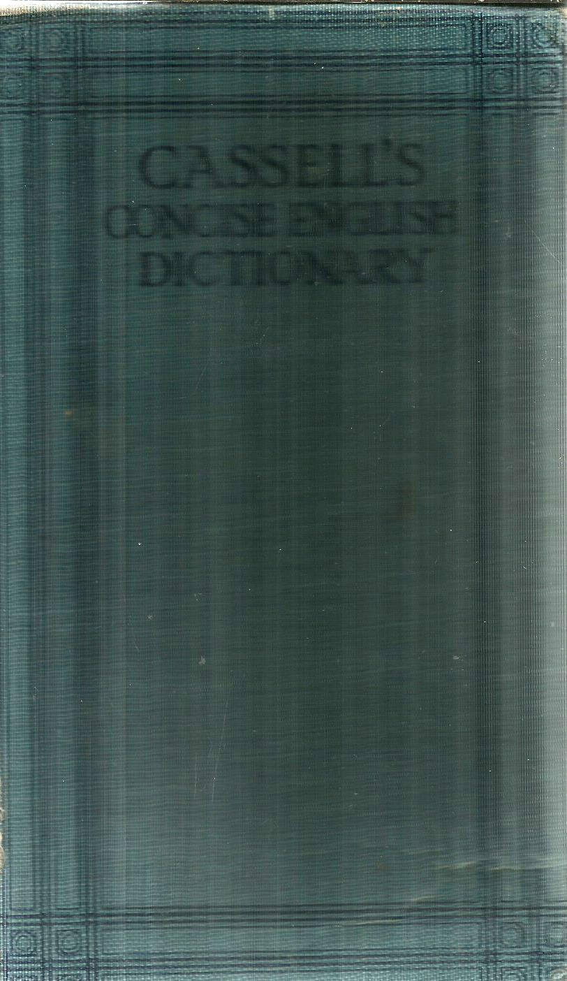 Cassell's Concise English Dictionary
