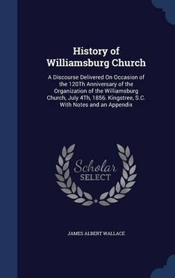 History of Williamsburg Church