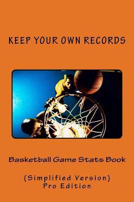 Basketball Game Stats Book