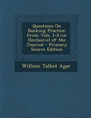 Questions on Banking...
