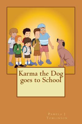 Karma the Dog Goes to School