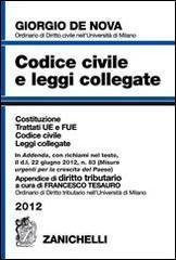Codice civile e leggi collegate 2012. Con appendice di diritto tributario. Con CD-ROM
