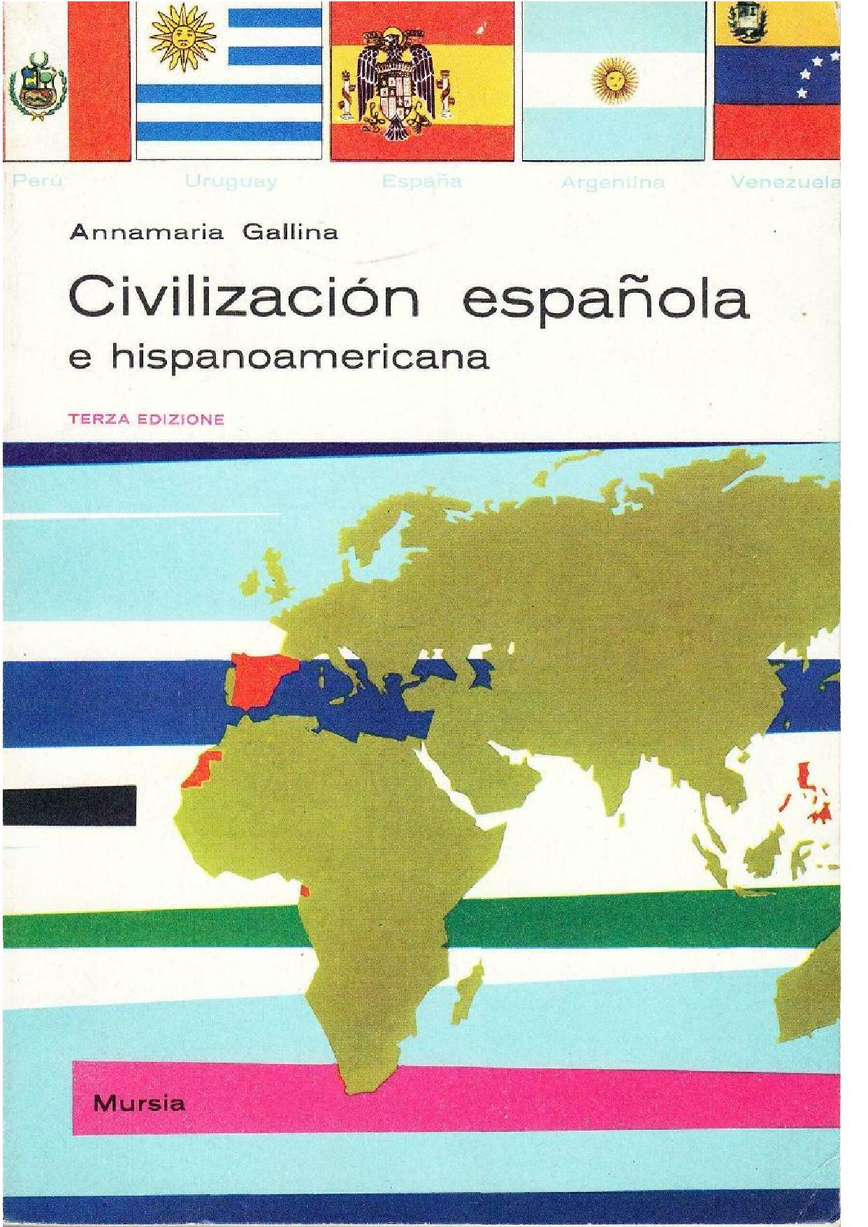 Civilización española e hispanoamericana